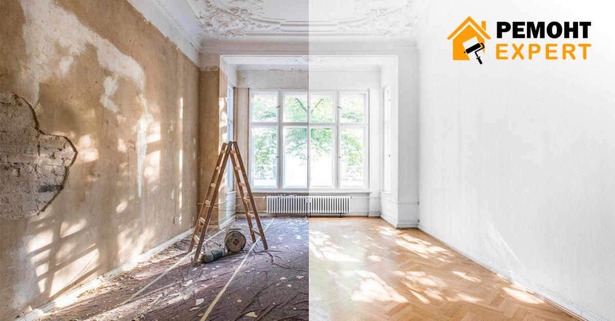 ремонт однокімнатної квартири під ключ